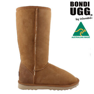 BONDI UGG Classic Tall Sheepskin Boot - CHESTNUT