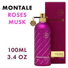 MONTALE Roses Musk Eau de Parfum EDP Unisex Spray 3.4 oz 100ml - 100% AUTHENTIC