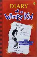 Diary of a Wimpy Kid - A Novel in Cartoons by Jeff Kinney used paperback
