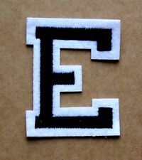 Letter E Patch Alphabet  Iron Sew On Applique Badge Motif