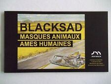 Catalogue Expo BLACKSAD Masques animaux âmes humaines Juanjo GUARNIDO CANALES