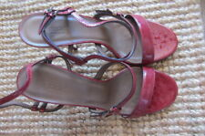 Gucci red sandals, heels  size AUS 8.5, 39.5, new