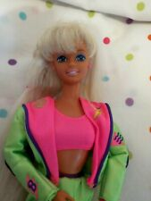 """Gorgeous Vintage """"Bicyclin Barbie"""" Doll,Rare and Htf, Mattel,Excd Toys"""