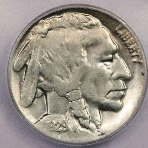 1929-D 1929 Buffalo Nickel 5C ICG MS64