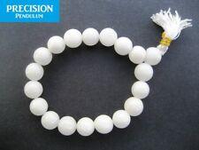 Snow Quartz 10mm Beads Stretch Healing Power Bracelet Gemstone Crystal