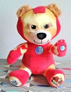 """Iron Man Marvel Build A Bear  8"""" Soft Toy Plush Comforter  EXCELLENT  Hand Wash"""