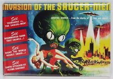 Invasion of the Saucer Men Movie Poster FRIDGE MAGNET Sci Fi Alien Monster Film