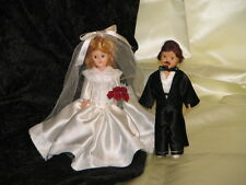 "Doll 7"" storybook ""Dress Me"" #16 Set Bride & Groom counts as 2 dolls in the deal"