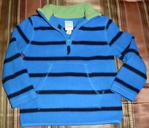 Old Navy Fleece Shirt/ Jacket, 1/4 Front Zipper, Size 4T