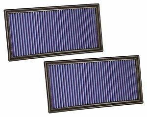 Kool Blue KP2225 Lifetime Washable High Flow Air Filters Set Fits Nissan 300ZX