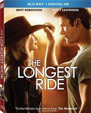 THE LONGEST RIDE (2015 Scott Eastwood)  -  Blu Ray - Sealed Region free