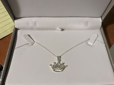 Sterling silver 18 inch Disney princess chain necklace new with tags never worn