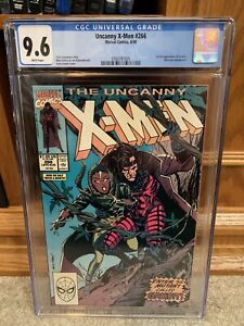 The Uncanny X-Men #266 (Aug 1990, Marvel) First Appearance of Gambit. CGC 9.6