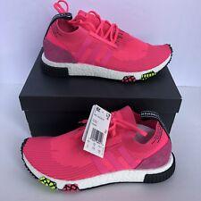 Mens Adidas Originals NMD Racer Pink CQ2442 Primeknit NWB Size 9