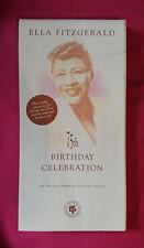 ELLA FITZGERALD - 75th birthday celebration BOX 2 CD