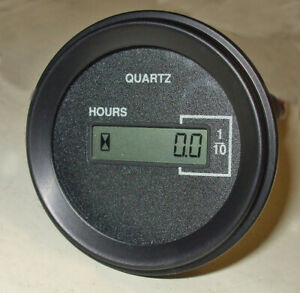 Hourmeter, digital LCD display, 12v-48v DC model 701   DHM1248-701RN