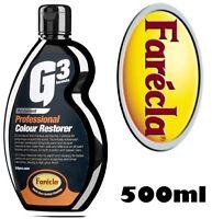 FARECLA PROFESSIONAL G3 COLOUR RESTORER 500ML COLOR PAINT FADE/SCRATCH T CUT