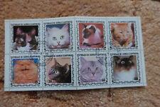 Briefmarkenblock aus Guinea Ecuatorial - Katzen