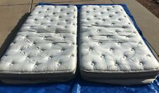 Used Select Comfort Sleep Number Split King i8  Mattress Top & Bottom Twin XL