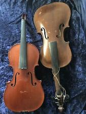 2 Alte Geigen 1x Albin L.Paulus Jr. Violine Geige 4/4