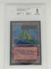 Volcanic Island Dual LandMTG Graded Collectors Edition: BGS 8.0