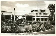 San Luis Potosi Campo Turista Motel Tuna Real Photo Postcard