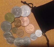 Ireland (Irish) - Bag 15 Irish Decimal Coins Half Penny to Pound set