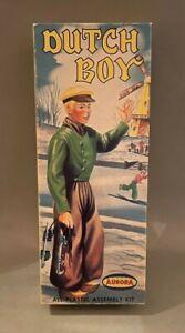Old 1957 Aurora Plastic Model Kit of DUTCH BOY figure 413-98 complete unbuilt