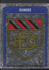 PANINI CALCIO VIGNETTA 1987-N. 485-DUNDEE FOIL BADGE