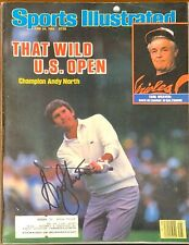 Andy North Signed Sports Illustrated SI 6/24/85 PGA Golf US Open