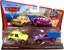 Disney Cars Cars 2 Fred Fisbowski & Holley Shiftwell Diecast Car 2-Pack
