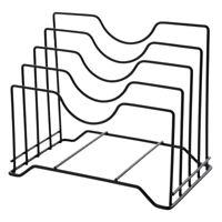 Pot Lid Holder Lid Organizer,Pot Lid Rack Storage,Pan Lid Cover Cabinet Pa T2R0