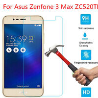 9H Real Premium Tempered Glass Screen Protector For Asus Zenfone 3 Max ZC520TL