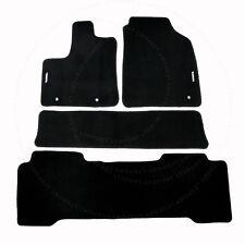 Fit 01-06 ACURA MDX Custom Fit Premium Nylon Black Floor Mats Carpet
