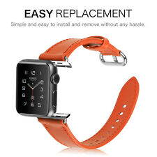Apple Watch Series 1/2 Band Premium Leather Strap Wrist Replacement 38mm / 42mm