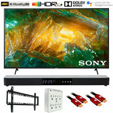 "Sony Xbr65X800H 65"" X800H 4K Ultra Hd Led Tv 2020 with Deco Gear Soundbar Bundle"