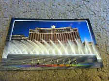 Las Vegas, NV Bellagio Hotel and Casino Dancing Water postcard 2008 Brand New!