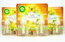 6 Air Wick SUNSHINE COTTON Scented Oil Refill LINEN SUNSHINE COCONUT