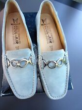 "MEPHISTO Cool Air Loafers ""Neida Sky Blue Velsport""  Suede Slip-on Shoes Sz 6"