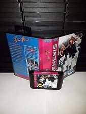 Flash Point Arcade Puzzle Video Game for Sega Genesis! Cart & Box