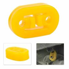 H Shape 2 Hole Car Exhaust Pipe Rubber Mount Hanger Brackets Replacement Yellow