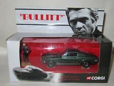 CORGI - No.CC05901 BULLITT 1968 FORD MUSTANG & FIGURE STEVE MCQUEEN MIB