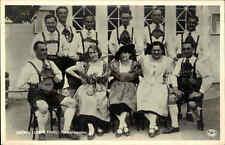 MUSIK Motiv-AK Tivoli Stockholm um 1920/30 Gröna Lunds Tyrolerkapellet Tiroler