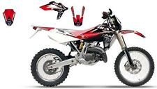 KIT DECO complet  DREAM ROUGE HUSQVARNA  GRAPHIC II POUR CR/WR125 06-08