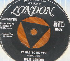 "JERRY LEE LEWIS ~ IT HAD TO BE YOU  b/w SADDLE WIND ~ UK TRI LONDON 7"" SINGLE"