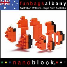 Nanoblock Clown Fish micro sized building blocks Nano block Clownfish mini block