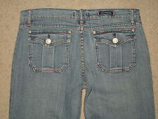 Rock & Republic Size 30 SIOUXSIE SIOSM Flap Pocket Stretch Flare Women Blue Jean