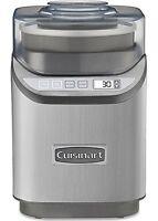 Cuisinart Cool Creations Ice Cream Maker - 2 Quart - Brushed Chrome (ice-70)