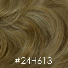 Brown/Blond Straight Wig w/Bangs - Long Wavy Shag