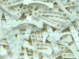 LEGO ARCH 1x6 x20 pieces # WHITE # bridge window wall castle